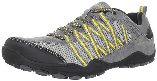 Skechers - Zapatillas para hombre gris gris: Amazon.es: Zapatos y complementos