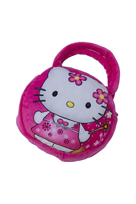 Amazon.com  Hello Kitty Soft Plush Handbag Purse for Kid Toddler by ... 91f24f3cd9d16