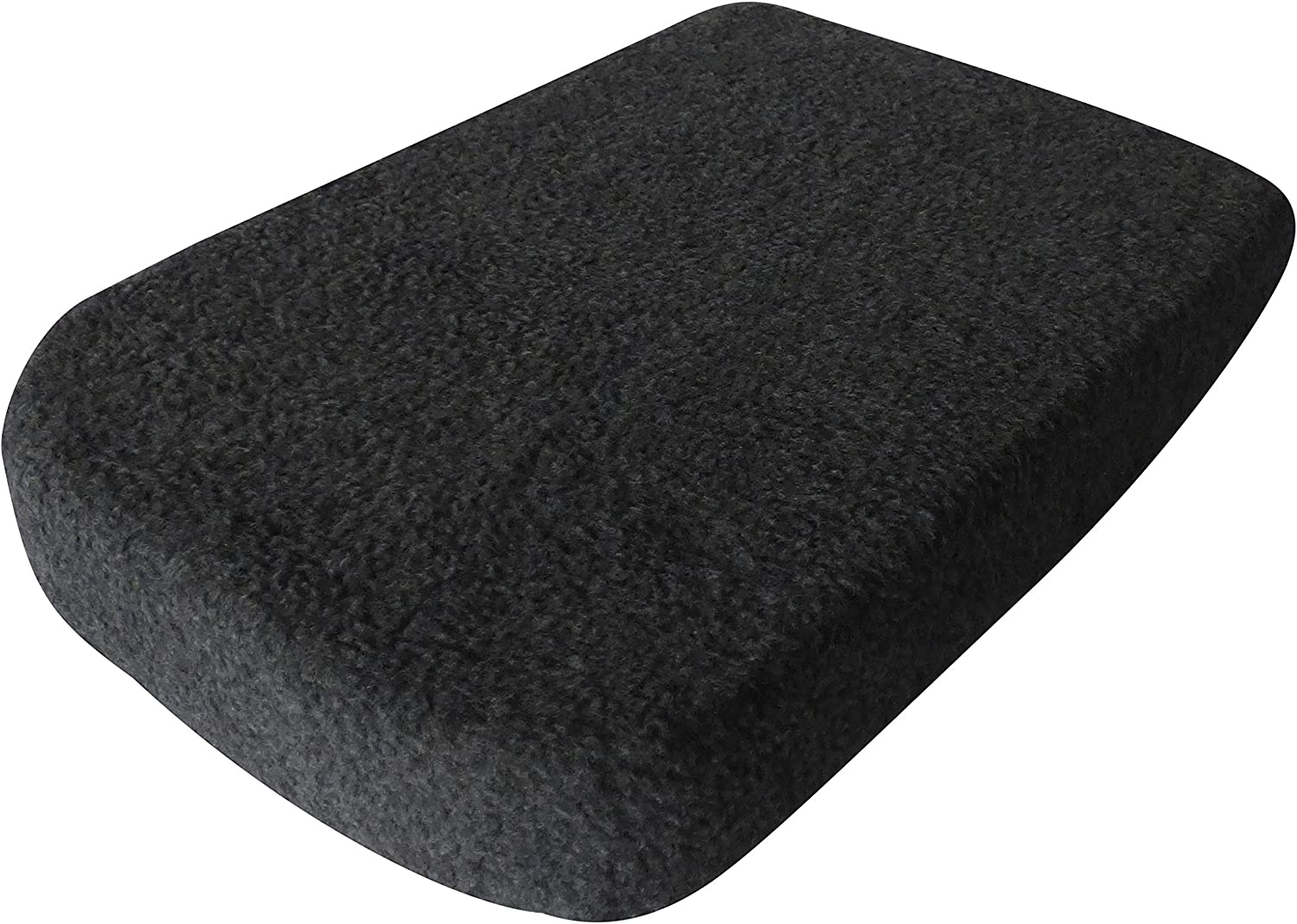 Sand Protects Console from Pets USA Seamstress Premium Fleece Console Cover for Toyota Tacoma 05/'-18/' Dirt Black and More