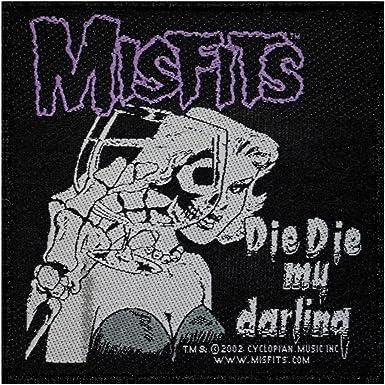 Misfits T Shirt Official fiend Skull Band Logo Die Die My Darling Mens New