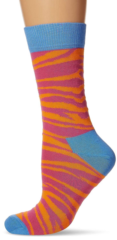 Happy Socks Zebra Sock, Calzini Donna Green 37-40 ZEB01-7000