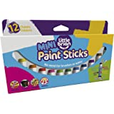 Little Brian Mini Paint Sticks - 12 Pack, Various