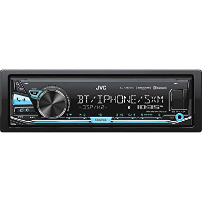 JVC KD-X340BTS Single-Din Car Digital Media Bluetooth Receiver, USB/AUX/SiriusXM: Automotive