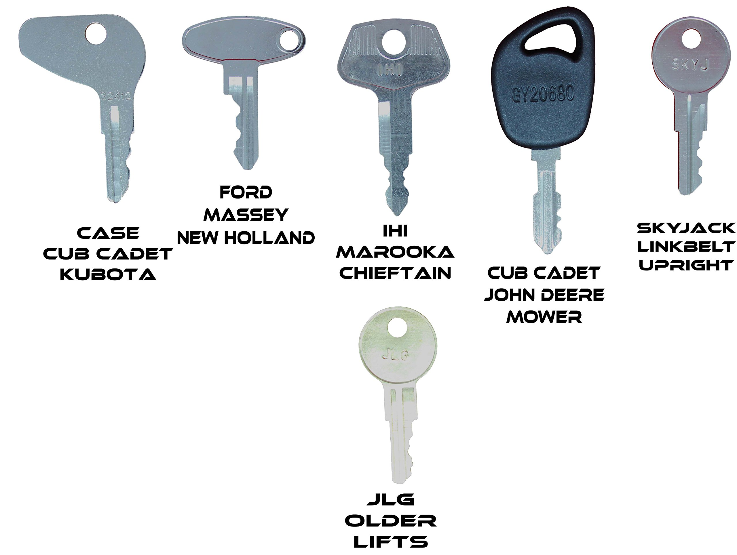 Construction Equipment Master Keys Set-Ignition Key Ring for Heavy Machines, 36 Key Set by TORNADO HEAVY EQUIPMENT PARTS (Image #5)