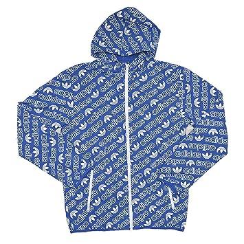 Adidas Herren AOP Windbre Windbreaker Jacke: