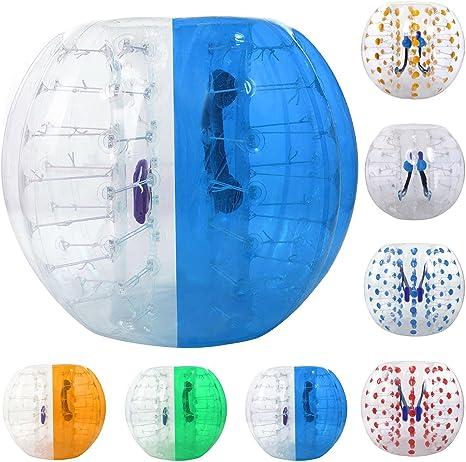 etuoji transparente Bumper Bubble – Balón de fútbol hinchable ...