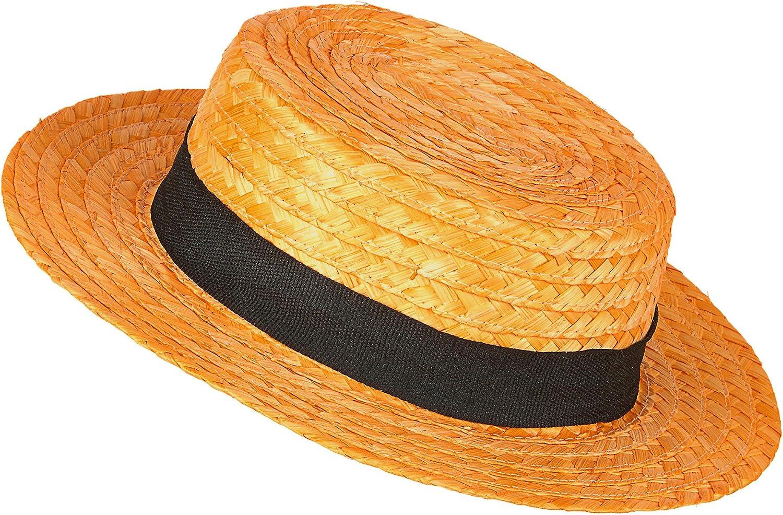 Generique - Sombrero Paja gondolero: Amazon.es: Juguetes y juegos