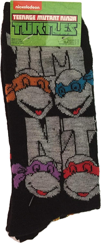 Adult Nickelodeon TMNT Teenage Mutant Ninja Turtles 2 Pair ...