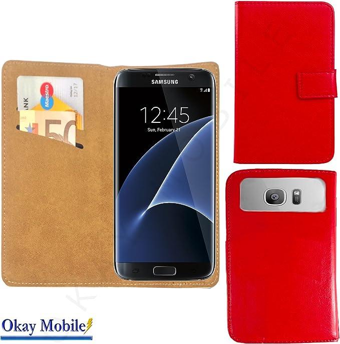 Nano Smartphone Funda Carcasa Cover Case Con Tarjeta de 2 compartimentos para Pepsi P1S – Rojo Nano L: Amazon.es: Electrónica