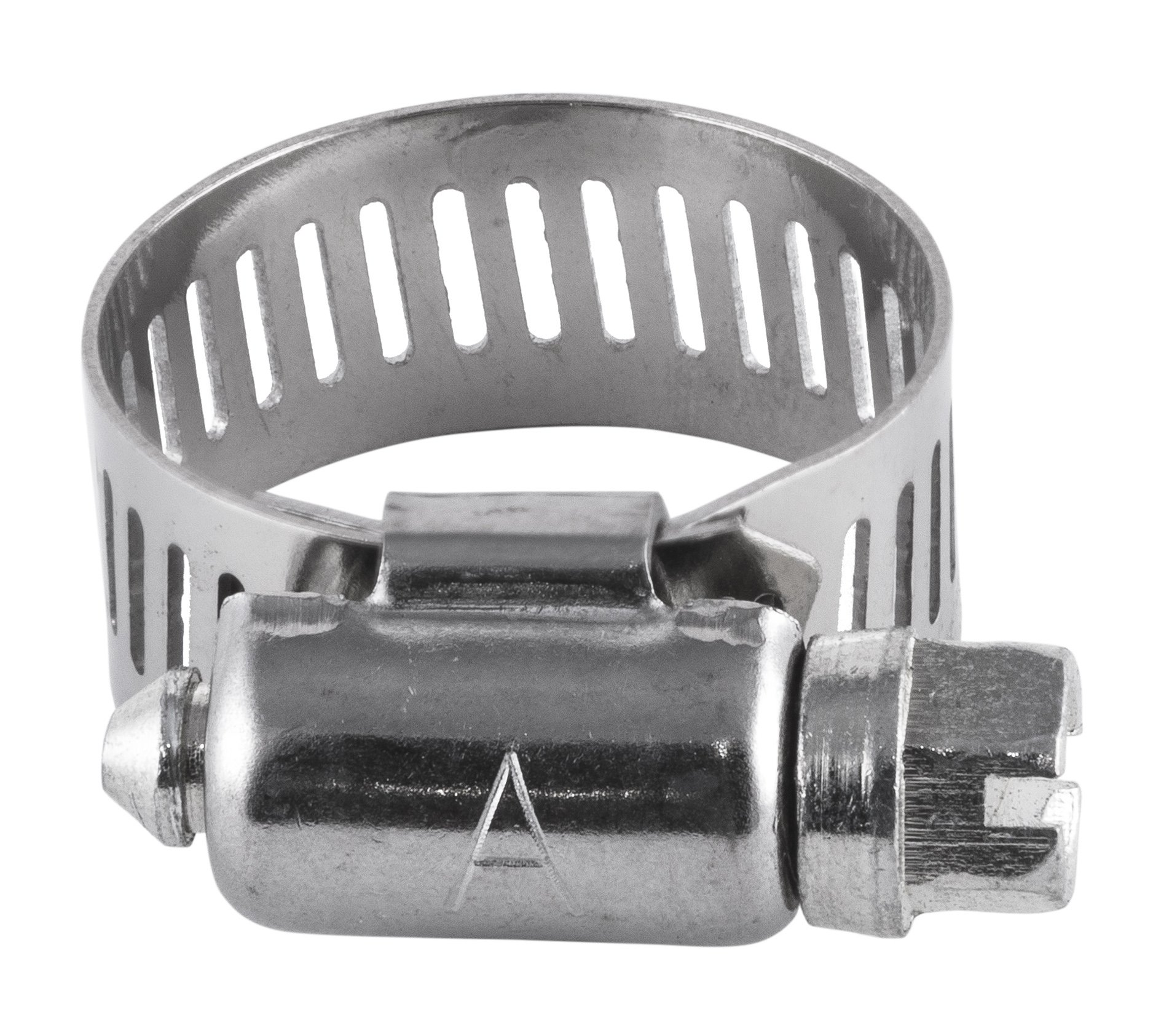 American Valve 2-Pack Worm Gear Hose Clamp, 7/16'' to 29/32'' (SAE size 8), CL8PK2, Stainless Steel Band & Housing by American Valve (Image #1)