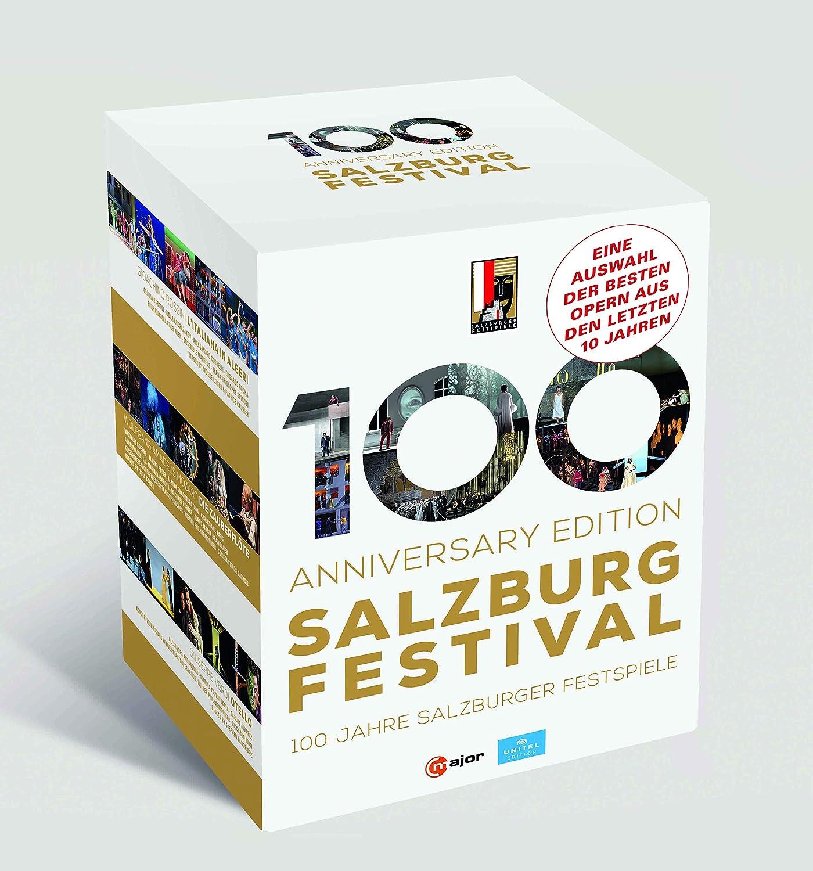Salzburg Festival - 100 Anniversary Edition (17-DVD Box Set) BD [Blu-ray]