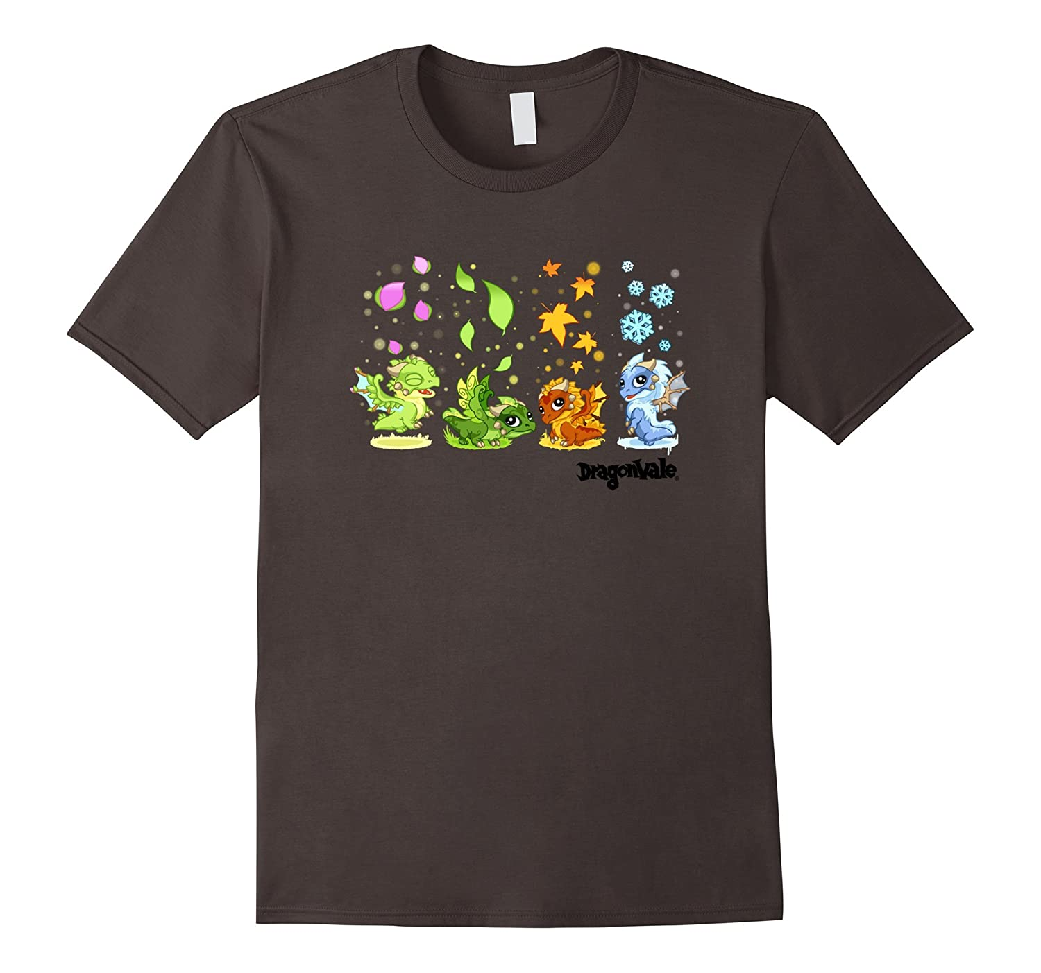 DragonVale: The Four Seasonal Dragon T-Shirt-CL