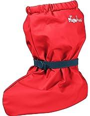 Playshoes Unisex Baby Waterproof Rain Footies with Fleece Lining