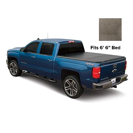 Leer Tonneau Cover >> Leer Latitude Soft Tri Fold Truck Bed Tonneau Cover 2014 2018 2019 Limited Gm Sierra Silverado Bed Size 6 6 Latitude Sc