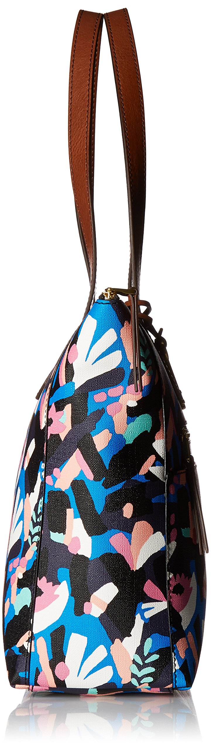 Fossil Fiona E/W Tote Bag, Black Floral,One Size by Fossil (Image #3)