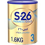 Wyeth S26 Progress Gold Stage 3, 1-3 Years Premium Milk Powder Tin 1.6kg