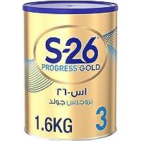 Wyeth S26 Progress Gold Stage 3, 1-3 Years Premium Milk Powder Tin 1.6kg