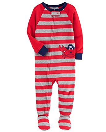 033f359c36c631 Macacão Pijama Com Pé Caranguejo - Carter's (2 anos): Amazon.com.br ...