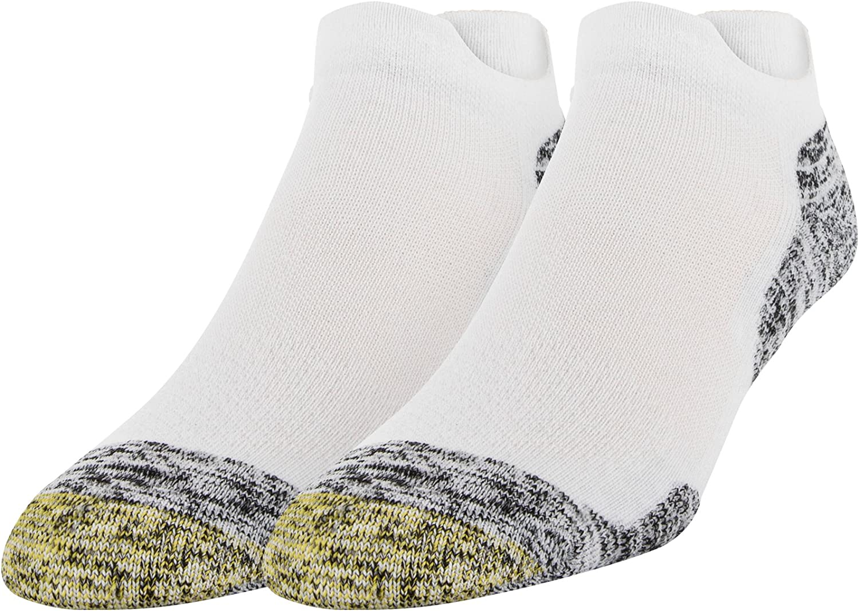 Gold Toe Men's Golf Sta-Cool XS Double Eagle Tab Socks, 2 Pairs