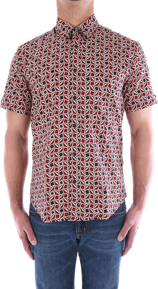 Ben Sherman BS59117 - Camisa de manga corta multicolor S: Amazon.es: Ropa y accesorios