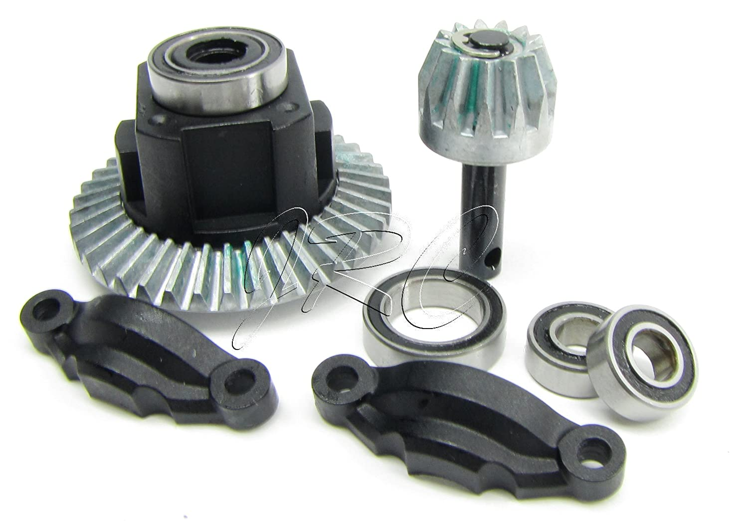 Axial Yeti Rear Differential Diff Axa30392 Bevel Gear Traxxas Stampede Vxl Parts Diagram Achterkant 6708 Set Wraith Axi90026 Toys Games