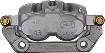 Remanufactured Loaded ACDelco 18R1523 Professional Rear Driver Side Disc Brake Caliper Assembly with Pads