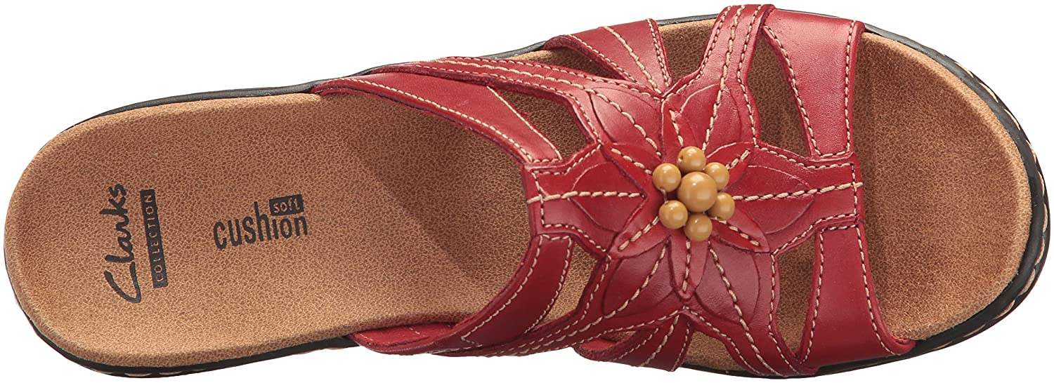 Clarks Women's Lexi Myrtle B01IAF0GGE M 8.5 M B01IAF0GGE US|Red Leather 66648c