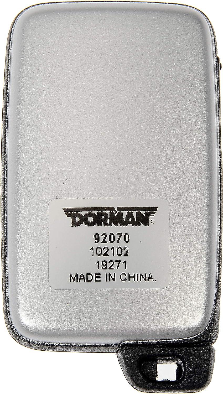 Dorman 92070 Keyless Remote Case Repair for Select Toyota Models