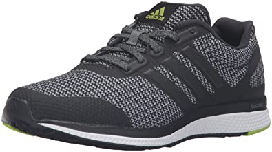 adidas Performance Men\u0027s Mana Bounce Running Shoe,Vista Grey/Black/Semi  Solar Slime
