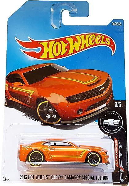 Amazon.com: Hot Wheels 2017 Camaro Fifty 2013 Hot Wheels Chevy ...