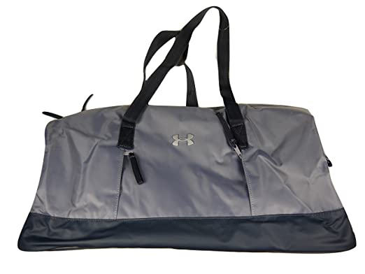 3448063b05f4 Under Armour Women s UA Studio Duffel Bag Steel Stealth Gray Silver One Size