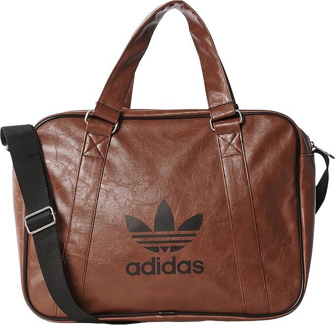 adidas Damen Airliner Vintage Tasche, Dust Rust, 38 x 28 x 12 cm