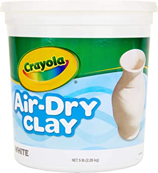 5 Pound Resealable Bucket of Crayola Air-Dry Clay