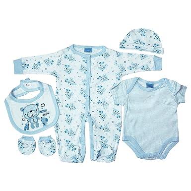 9c03502079431 Rock-A-Bye-Baby - Ensemble - Bébé (garçon) 0 à 24 mois - bleu - 6 ...