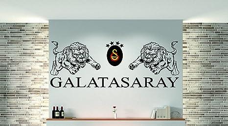 3 Farbig Galatasaray Als Wandtattoo Beschreibung Beachten I Aufkleber In 27 Farben Und Versch Gr Ca 166 X 60 Cm Bxh Schwarz Amazon De Kuche Haushalt