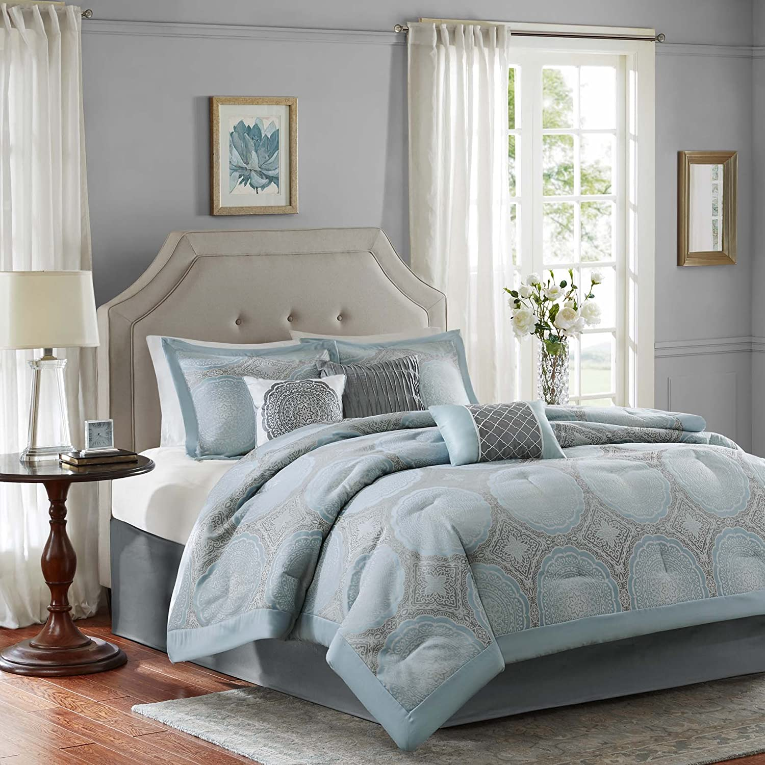 vanegroo solid navy info size blue sets comforter queen full king set target
