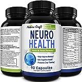 Natures Craft's Mind Enhancement Supplement Natural Nootropic Pills for Men and Women Boost Focus Clarity Improve Memory Redu