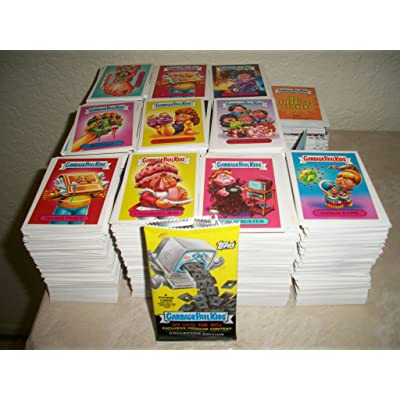 2019 Garbage Pail Kids -WE HATE THE 80s- Lot of Thirty Different Stickers + 2 Cereal Killer Cards