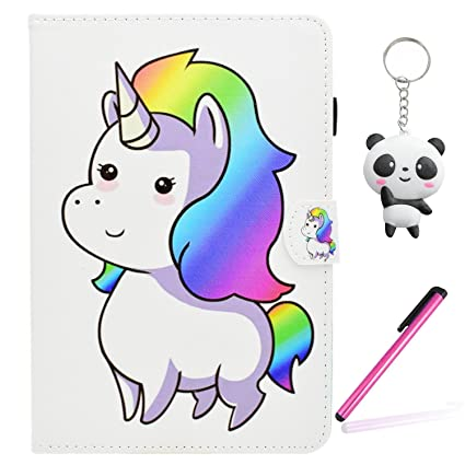 Funda Kindle Paperwhite 1 2 3 Lindo unicornio PU Cuero ...