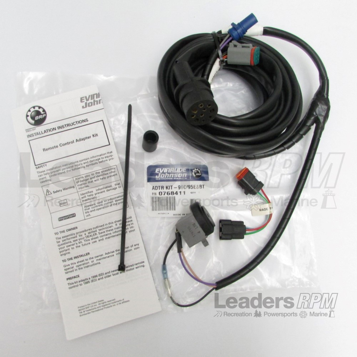 Amazon.com: Johnson/Evinrude/OMC New OEM Control Adaptor Wire Harness Cable  0768411; 768411: Automotive