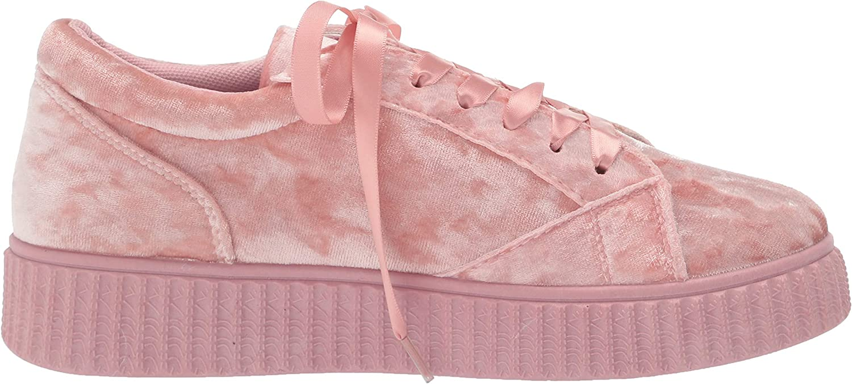 Details about  /Twisted Women/'s Olivia Velvet Platform Creeper Fashion Sneaker