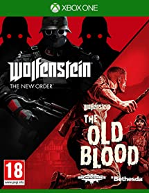 Wolfenstein The New Order and The Old Blood Double     - Amazon com