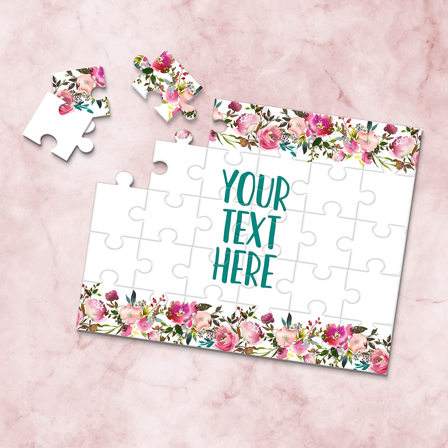 Create Your Own Puzzle CYOP0126 Pregnancy Announcement Personalized Puzzle Custom Puzzle Wedding Announcement Announcement Ideas