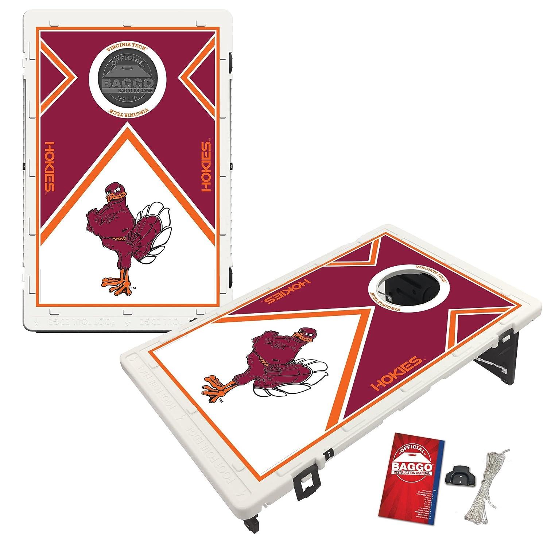 Virginia Tech Hokies Baggo Bean Bag Toss Cornhole Game Vintage Design
