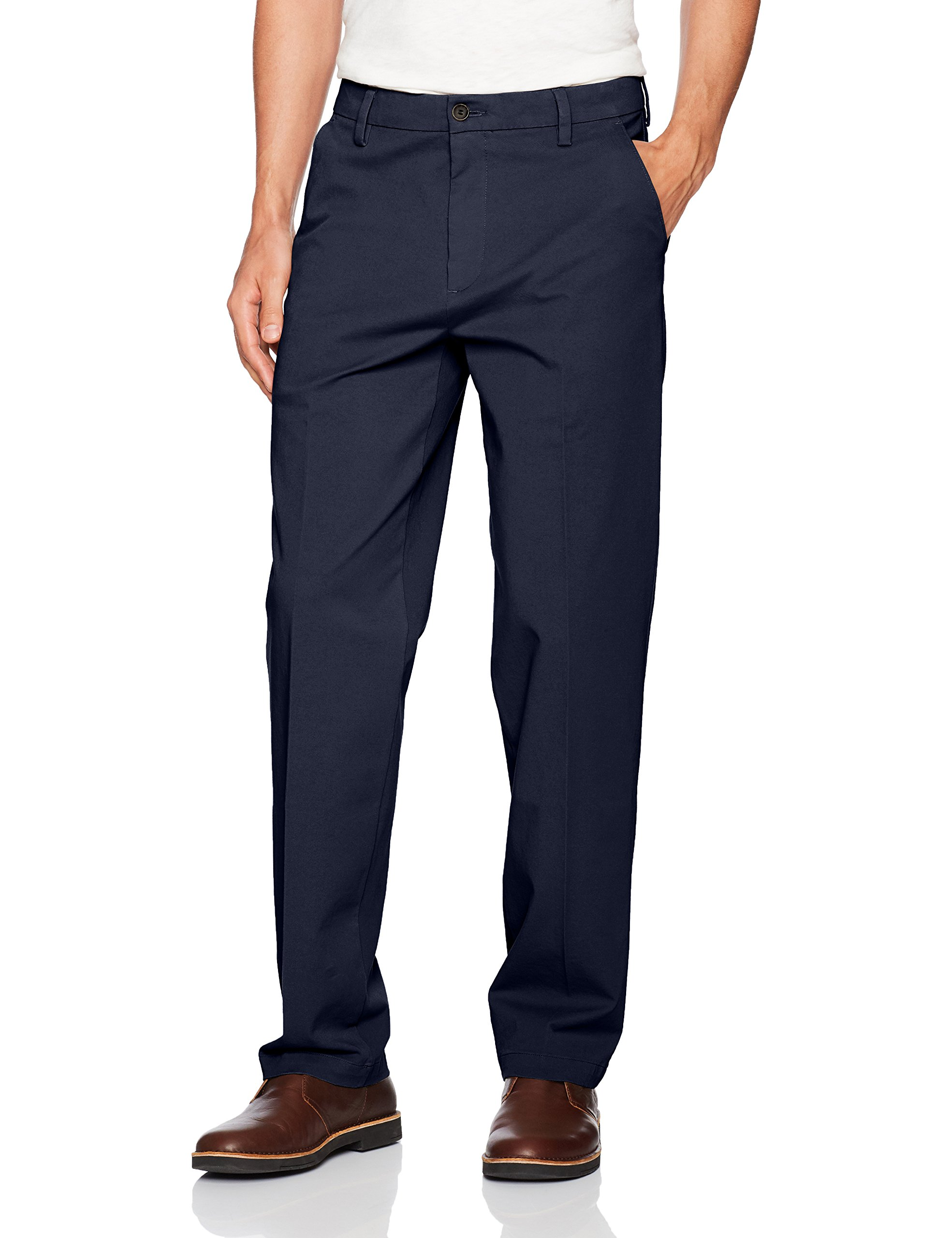 Dockers Men's Classic Fit Workday Khaki Smart 360 Flex Pants D3, Pembroke (Stretch), 34W x 36L