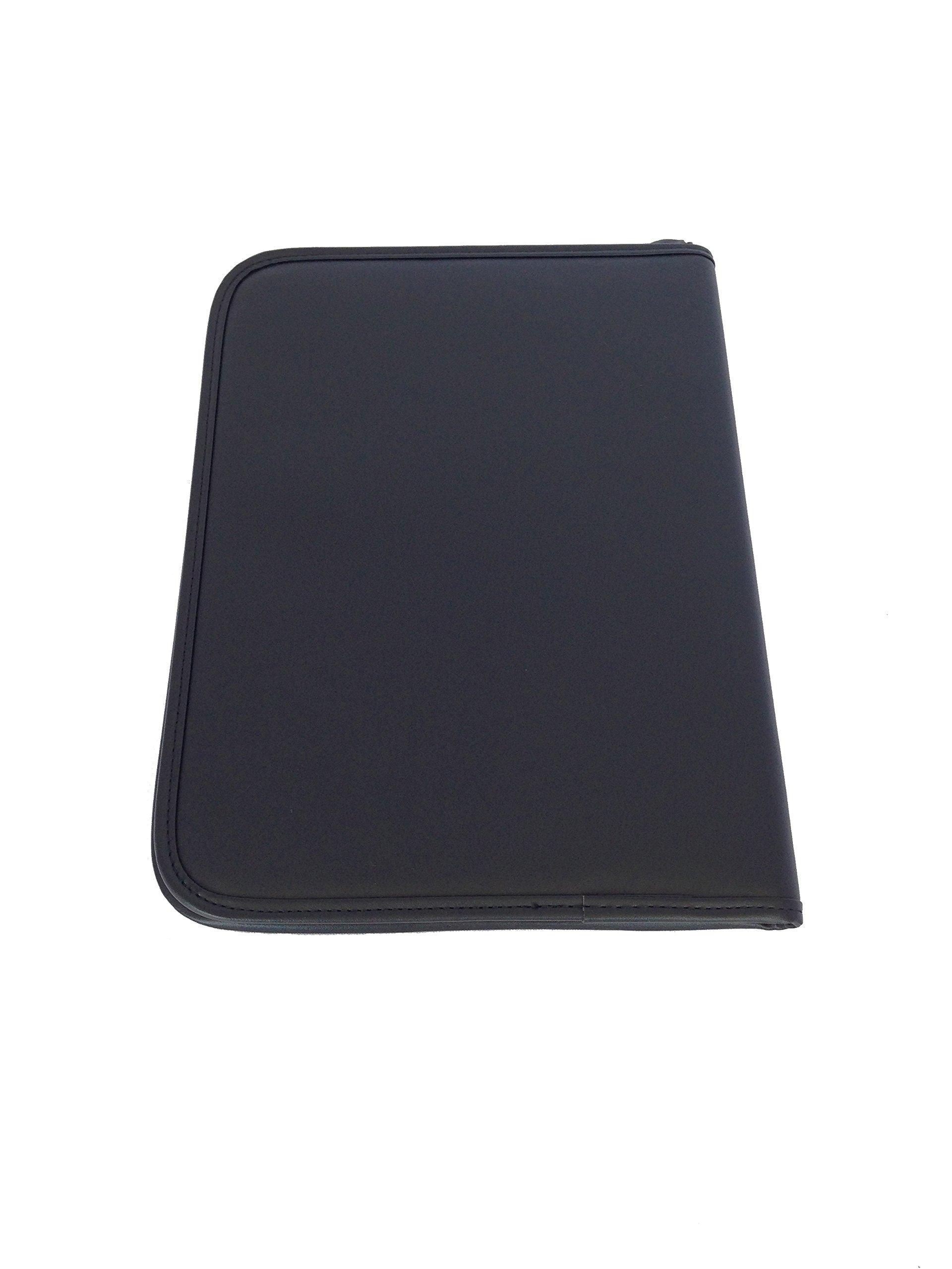 ImpecGear Padfolio Zippered Portfolio Interior 10.1 Inch Tablet Sleeve, Organizer Document Holder W/ Notepad & Pen Slot, Calculator (10'' x 13.5'' x 1.5'') by ImpecGear (Image #4)