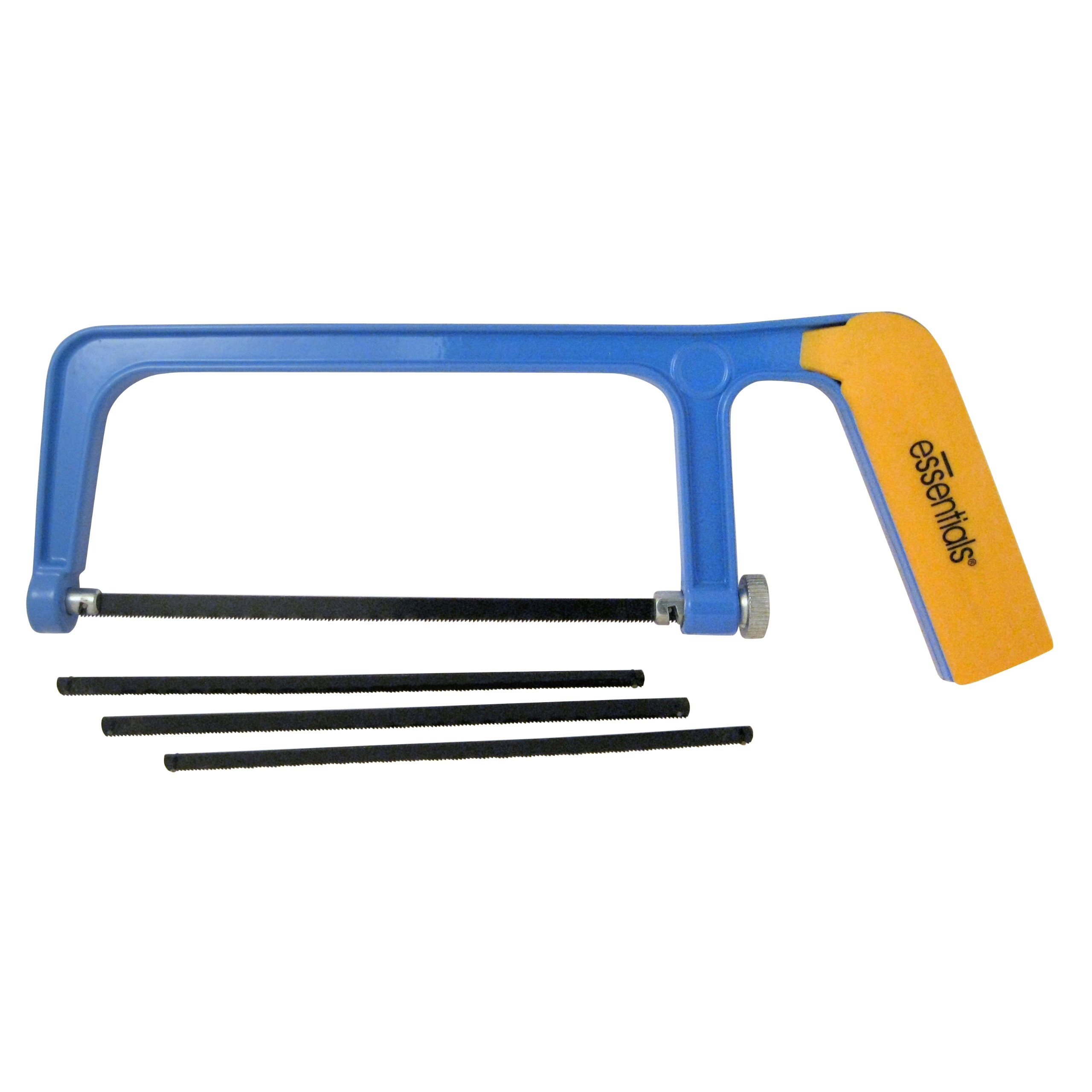 GreatNeck 21039 Essentials Hacksaw with 3 Extra Blades