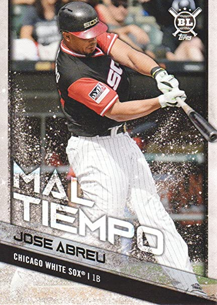 Image Unavailable. Image not available for. Color  2018 Topps Big League  Baseball Players Weekend Photo Variations  99 Jose Abreu Chicago White Sox 7bc168436