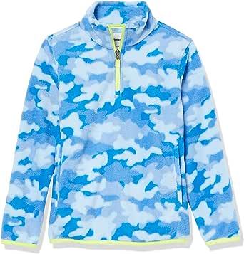 Amazon Essentials Chaquetas de Forro Polar con Cremallera Parcial Fleece-Outerwear-Jackets Niños