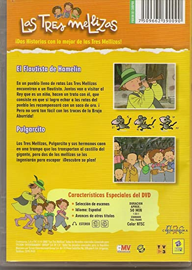 49b7f53637636 Amazon.com  Las tres Mellizas (Dos Historias  El Flautista de Hamelin y